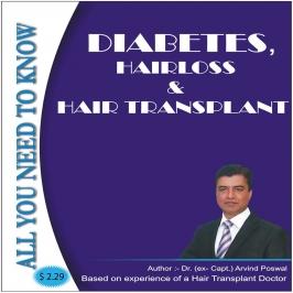 DIABETES, HAIRLOSS & HAIR TRANSPLANT